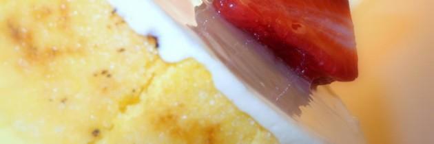 Mousse cioccolato bianco e fragoline (Knam)
