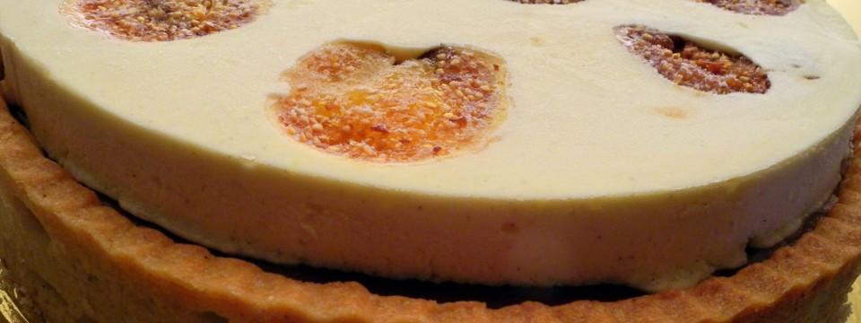 Crostata di fichi caramellati e cioccolato caramelia (M. Santin)