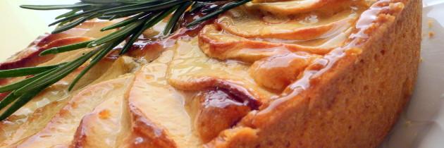 Crostata di mele al rosmarino (E. Knam)