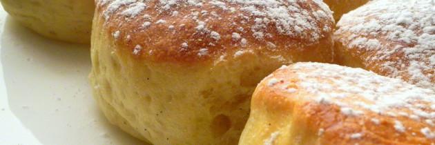 Krapfen al forno con pasta madre (da Fables de  Sucre)