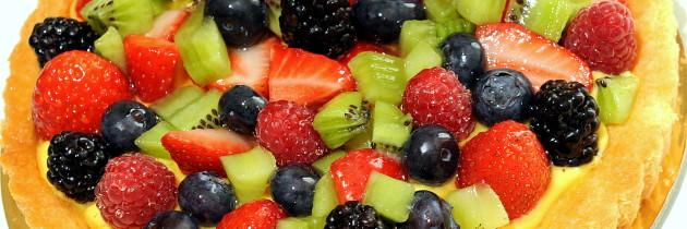 Crostata alla frutta fresca (I. Massari)