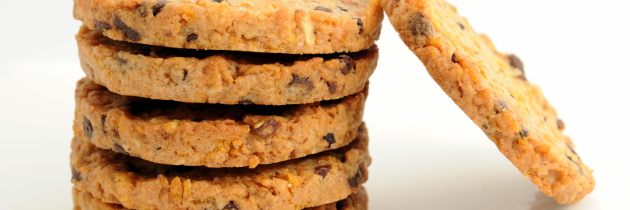 Cookies croccanti con pepite di cioccolato (A. Palmieri)