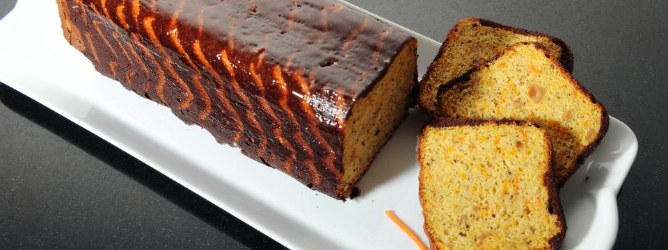 Cake carote nocciole (P. Hermè)