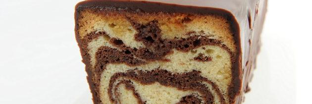 Cake marmorizzato al cioccolato (F. Perret)